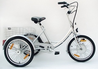 Electric powered trikes