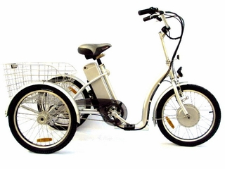 Electric trike, bird watching