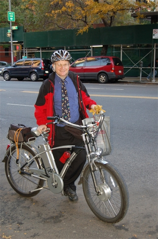 eZee Cadence, David Luftig's NYC Commute