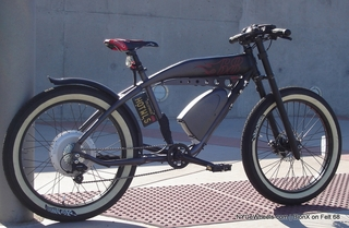 Felt with BionX electric bike motor, awesome conversion