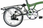 The E type Brompton folding bike