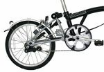 The L type Brompton folding bike