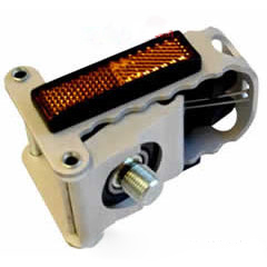 Folding right hand pedal
