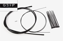 Gear cable 3-spd & ties, P-type, Part# QGCAB3A-P