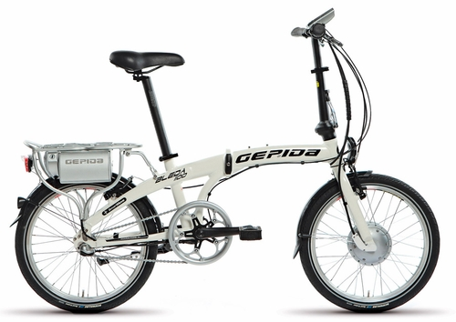Gepida Bleda folding electric bicycle