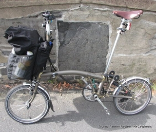 Inside The Brompton Touring Pannier