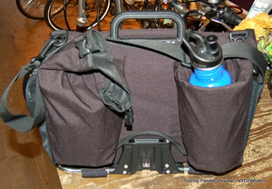 Rigid attachment of the Brompton touring pannier