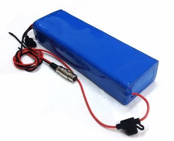 Lithium battery 36 volt, 11 AH w/Charger