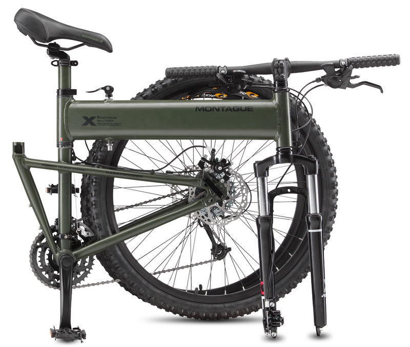 Montague Paratrooper folding mountain bike