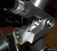 Quando Handlebar hinge clamp assembly