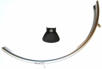 Rear Mudguard, R (dyno cutout), Part# QMGRRDA