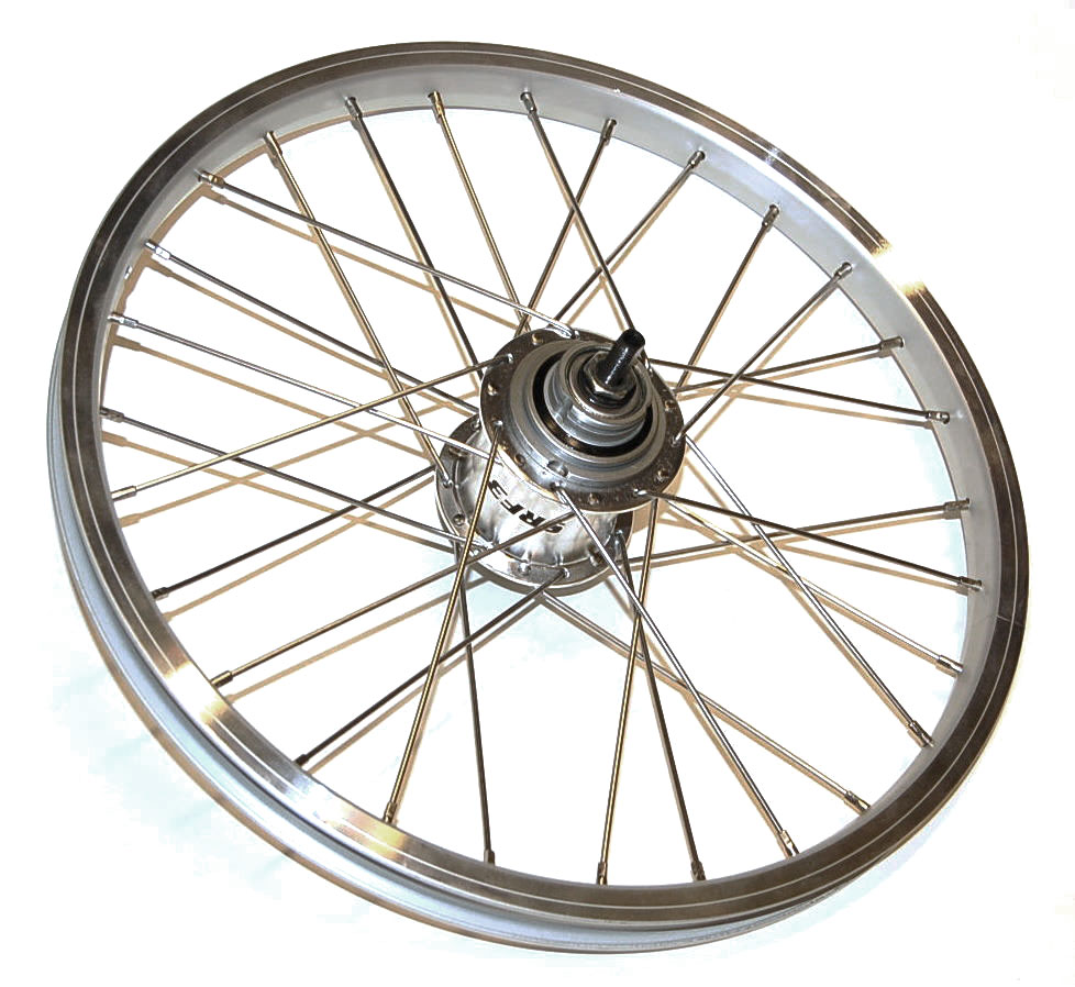 Rear wheel complete, STURMEY Archer