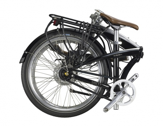 Tern Eclipse S11i - fully loaded folding bike