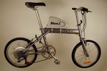 Xootr Swift / BionX - electric folding bike