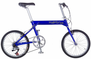 Xootr Swift folder, NYC's folding bike