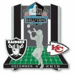 2015 Oakland Raiders vs. Kansas City Chiefs Game Day Pin