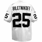 Fred Biletnikoff Authentic Jersey White