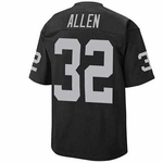 Marcus Allen Throwback Jersey - Black