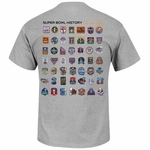 NFL Majestic Passing Game History Tee