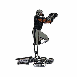 Oakland Jerry Rice Lapel Pin - Click to enlarge