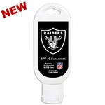 Oakland Raiders 1.5oz SPF 30 Sunscreen