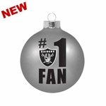 Oakland Raiders #1 Fan Ornament