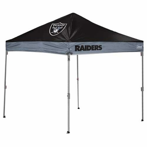 Oakland Raiders 10X10 Tent - Click to enlarge