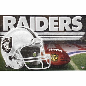 Oakland Raiders 11 x 17 Inch Puzzle - Click to enlarge