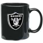 Oakland Raiders 11oz Black Mug