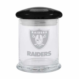 Oakland Raiders 11oz Candy Jar - Click to enlarge