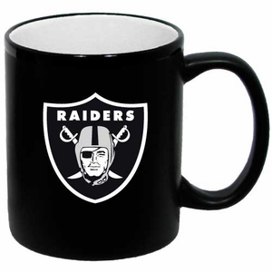 Oakland Raiders 11oz Two Tone Mug - Click to enlarge