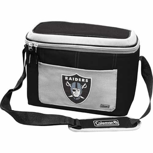 Oakland Raiders 12 Can Cooler - Click to enlarge