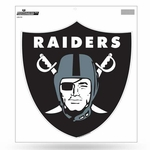 Oakland Raiders 12 Inch Shield Logo Vinyl Decal