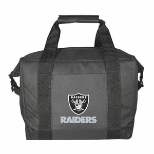 Oakland Raiders 12 Pack Kooler Bag - Click to enlarge