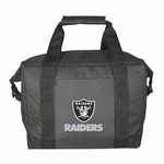 Oakland Raiders 12 Pack Kooler Bag