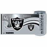 Oakland Raiders 12oz Chrome Can Tumbler