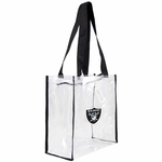 Raiders 12x12 Zip Tote