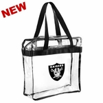 Oakland Raiders 12x12 Zip Tote