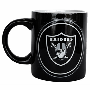 Oakland Raiders 14oz Warm up Mug - Click to enlarge