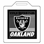 Oakland Raiders 14x14 Seat Cushion