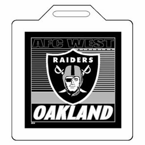 Oakland Raiders 14x14 Seat Cushion - Click to enlarge