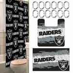Oakland Raiders 15 Piece Bath Set