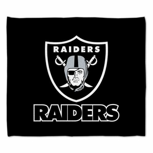 Oakland Raiders 15 x 18 Rally Towel - Click to enlarge