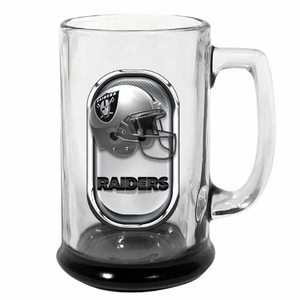 Oakland Raiders 15oz Highlight Mug - Click to enlarge
