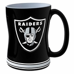 Oakland Raiders 15oz Relief Sculpted Mug