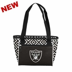 Oakland Raiders 16 Can Cooler Tote