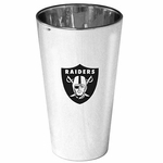 Raiders 16 ounce Lusterware Pint