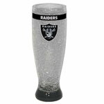 Oakland Raiders 16oz Crystal Freezer Pilsner