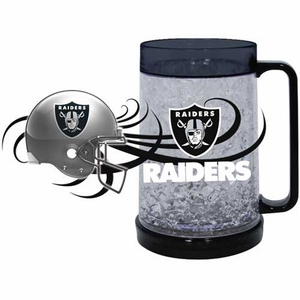Oakland Raiders 16oz Freezer Mug - Click to enlarge