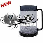 Oakland Raiders 16oz Freezer Mug